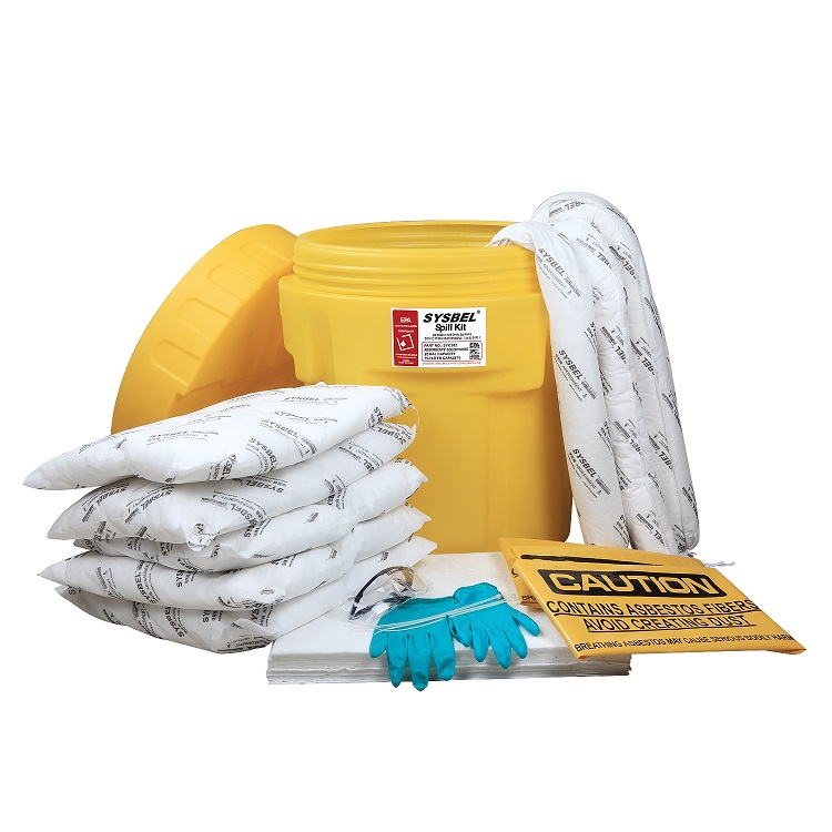20加仑泄漏应急处理桶套装(油类专用)SYK202