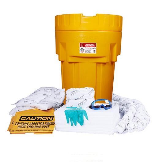 65加仑泄漏应急处理桶套装(油类专用)SYK652