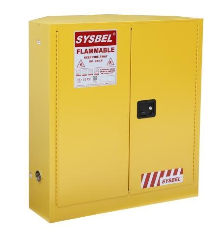 易燃液体安全存储柜(角落式)WA810300C