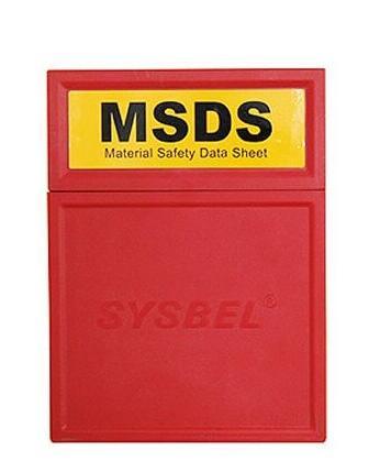 MSDS资料储存盒(所有类型使用) WAB001